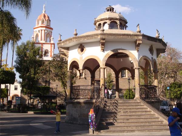 Jardin Hidalgo Centro Histórico de Tlaquepaque