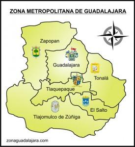 ZonaGDL Mapa 275x300 Zona Metropolitana de Guadalajara