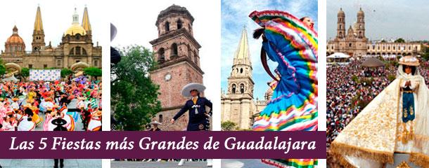 Fiestas de Guadalajara Bienvenidos a la Perla Tapatía