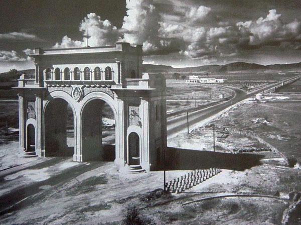 Arcos de Guadalajara en 1950