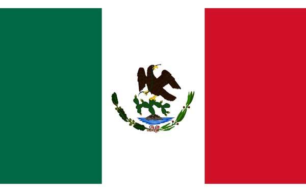 Bandera-de-México-(1823-1864)