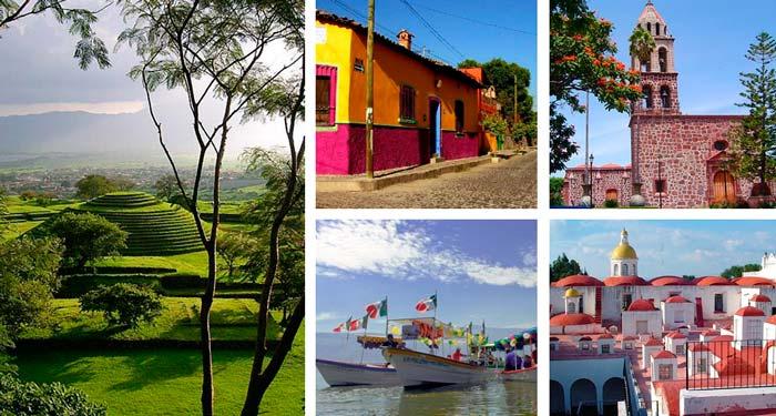 Lugares cercanos a Guadalajara