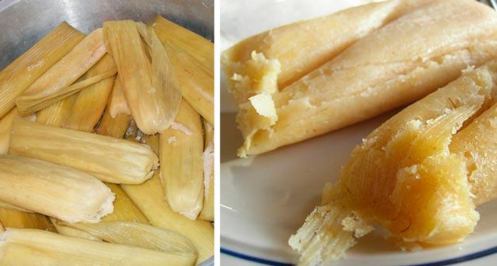 Tamales-de-Elote