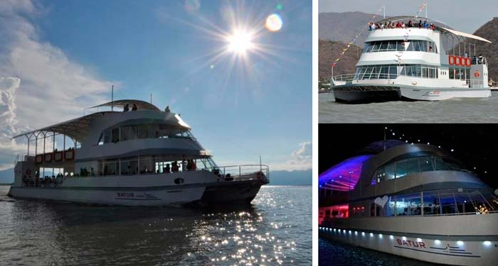 Barco Turístico en Chapala