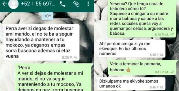 Conversaciones WhatsApp 620x315 La reclama por sorra en WhatsApp y se vuelve viral