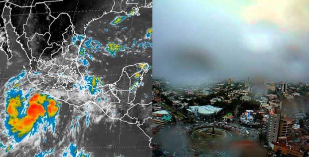 Tormenta Frank 620x315 Tormenta Frank provocará fuertes lluvias en ZMG este fin de semana