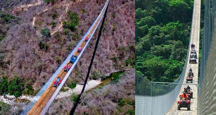 Puente colgante más largo del mundo Jalisco