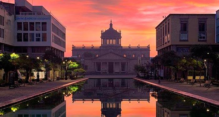 Amanecer en Guadalajara