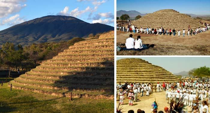 Tapatíos reciben la Primavera en Los Guachimontones - Zona Guadalajara